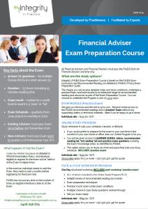FASEA Ecam Preparation Courses
